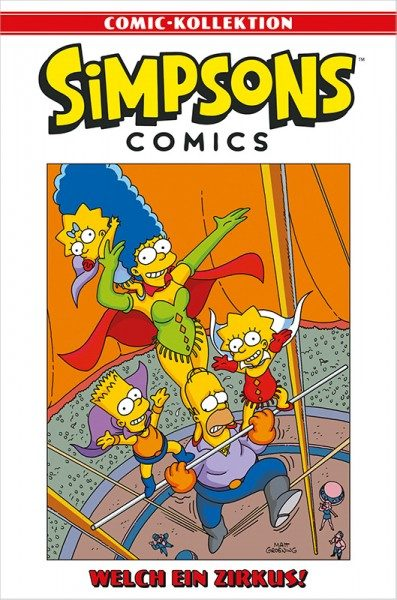 Simpsons Comic-Kollektion 71: Welch ein Zirkus! Cover