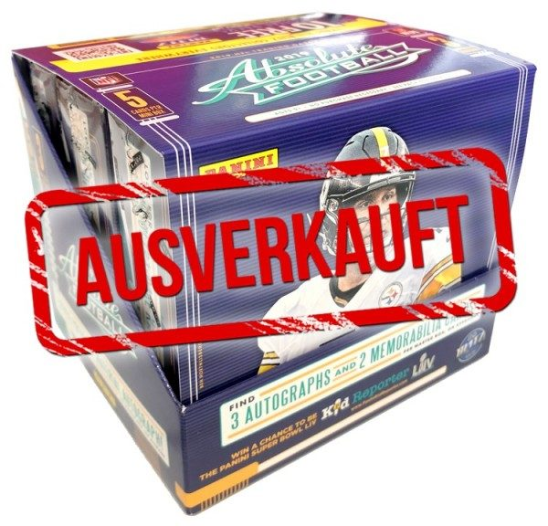 NFL Absolute Football 2019 Trading Cards - Hobbybox - ausverkauft