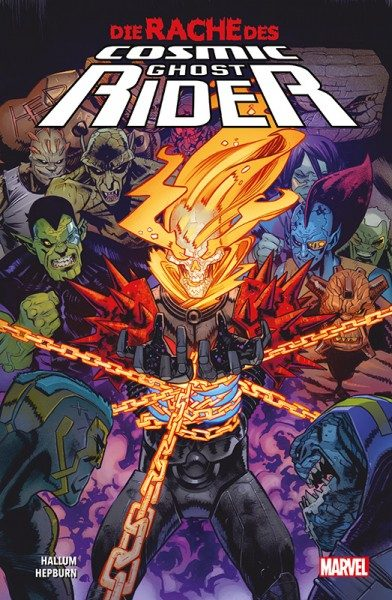 Die Rache des Cosmic Ghost Rider Cover