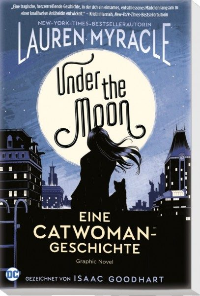 Under the Moon Eine Catwoman Geschichte Cover Front