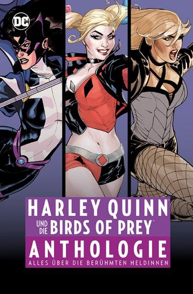 Harley Quinn und die Birds Of Prey - Anthologie Cover