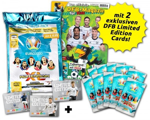 UEFA EURO 2020 Adrenalyn XL - Paule Limited Edition Bundle