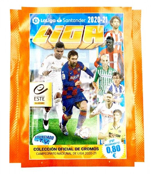 Panini La Liga 2020/21 Stickerkollektion - Tüte