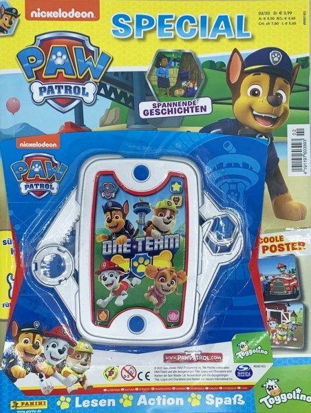 Paw Patrol Special Magazin 02/20 Packshot Cover mit Extra