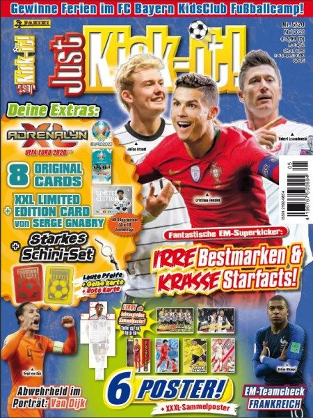 Just Kick It 05/20 - Magazin - Cover