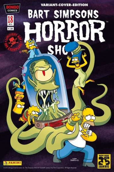 Bart Simpsons Horror Show 18 Variant