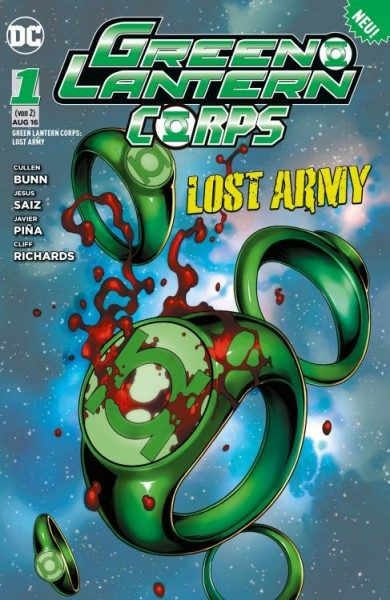 Green Lantern Corps - Lost Army 1