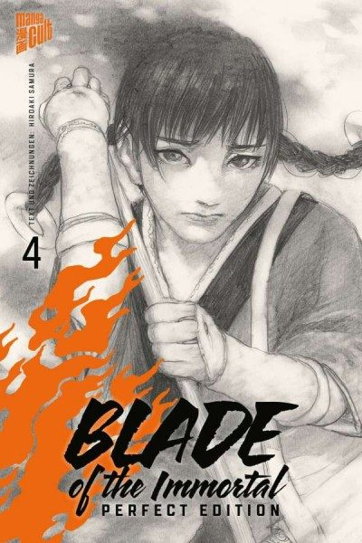 Blade of the Immortal 4 Perfect Edition Cover