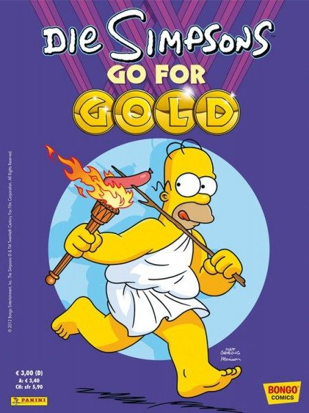Simpsons - Go for Gold