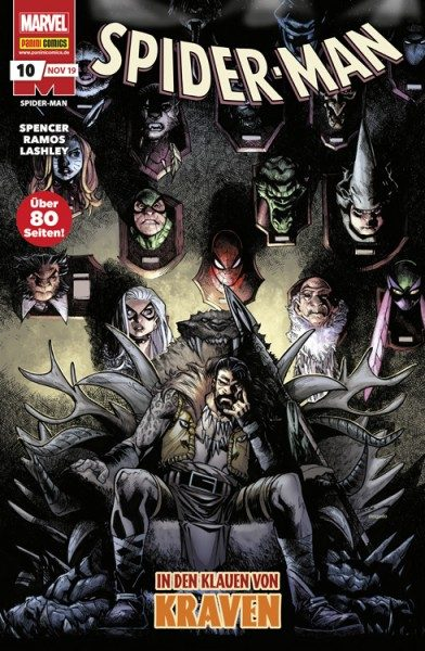 Spider-Man 10 Cover