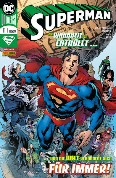 Superman 11 Cover