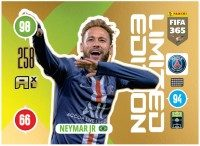Panini FIFA 365 Adrenalyn XL 2021 Kollektion – LE-Card Neymar Jr Vorne