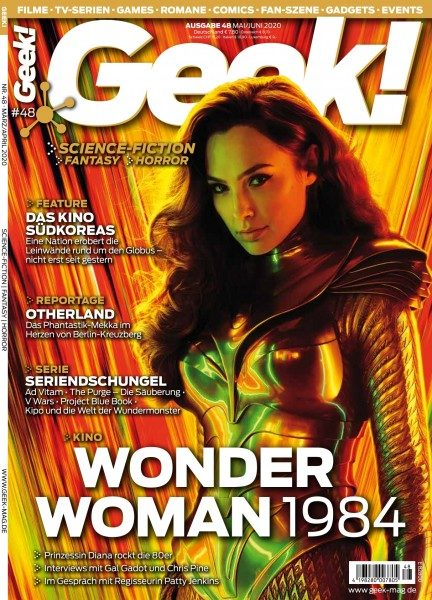 Geek! Magazin 48 Cover Wonder Woman