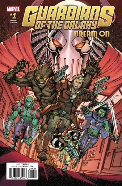 Guardians of the Galaxy 1 - Die neuen Guardians Variant Cover 2