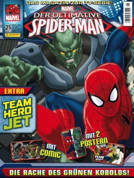Der ultimative Spider-Man - Magazin 25