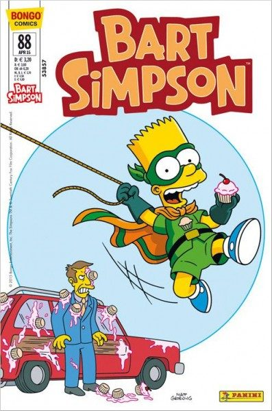 Bart Simpson Comics 88 Cover