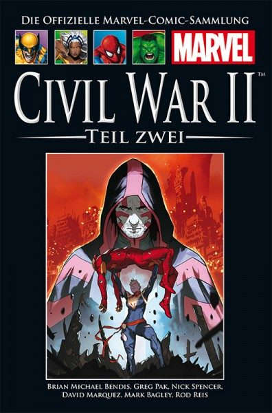 Hachette Marvel Collection 191: Civil War II, Teil 2 Cover