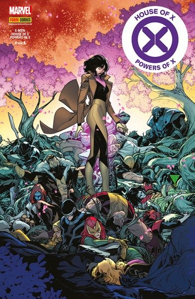 X-Men: House of X & Powers of X 4 Cover