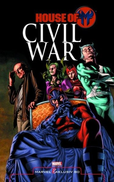 Marvel Exklusiv 80 - Civil War House of M Hardcover
