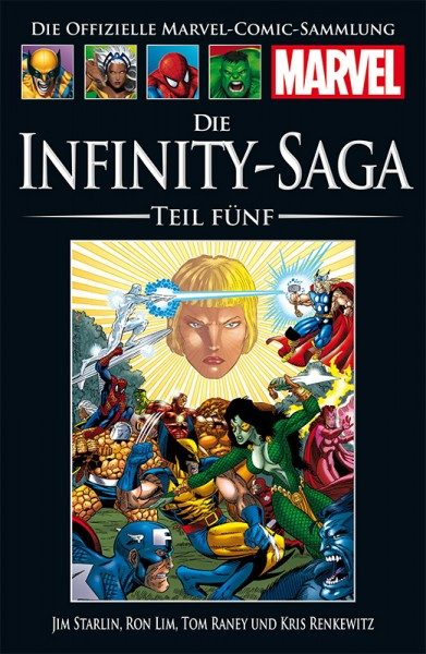 Hachette Marvel Collection 180 Infinity Saga, Teil V Cover