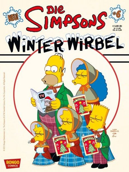 Simpsons - Winter-Wirbel 6