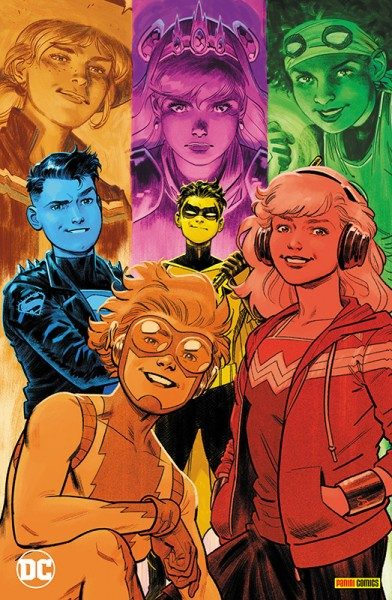Young Justice 1 - Sieben Krisen Variant Cover