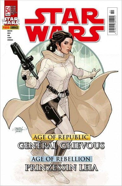 Star Wars 54: Age of Republic - General Grievous & Age of Rebellion: Leia - Kiosk Ausgabe Cover