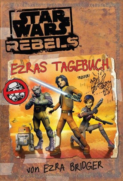 Star Wars - Rebels - Ezras Tagebuch