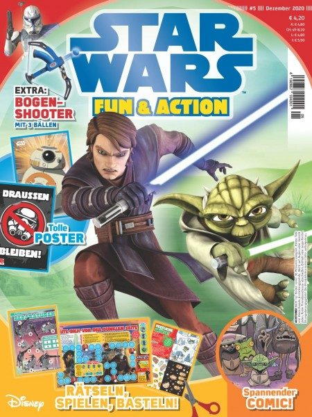 Star Wars Fun & Action Magazin 05/20 Cover