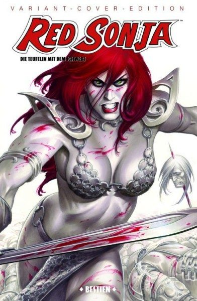 Red Sonja 4 Variant - Comic Action 2009
