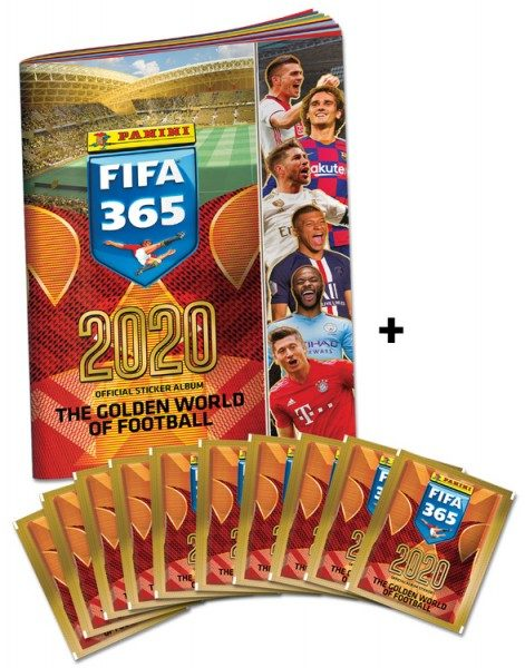 Panini FIFA 365 2020 Stickerkollektion – Schnupperbundle