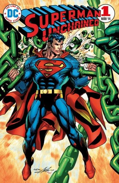 Superman Unchained 1 Variant B
