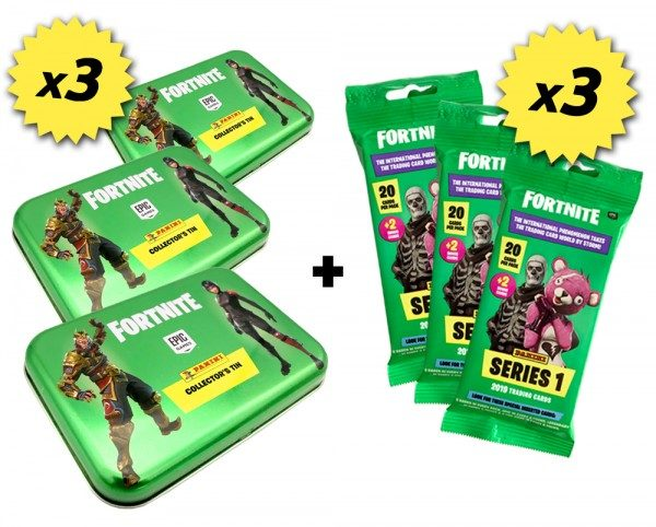Fortnite Mini-Tin Bundle - Inhalt