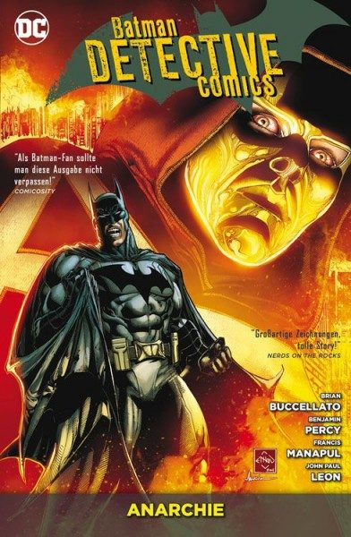 Batman Detective Comics 7: Anarchie Cover