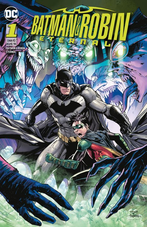 Batman & Robin Eternal 1 Variant