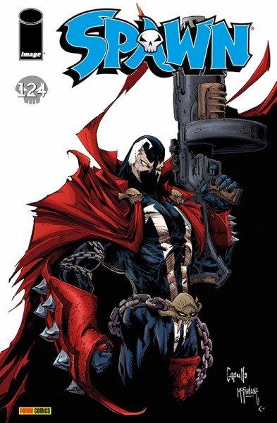 Spawn 124 Cover