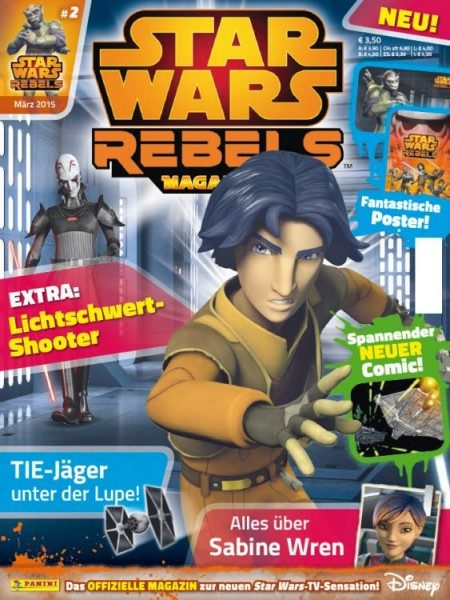 Star Wars - Rebels - Magazin 2