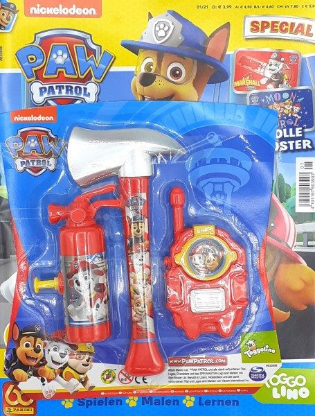 Paw Patrol Special Magazin 01/21 Cover mit Extra