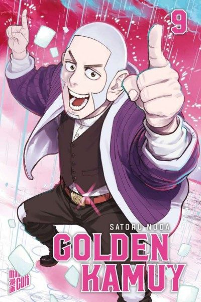 Golden Kamuy 9 Cover