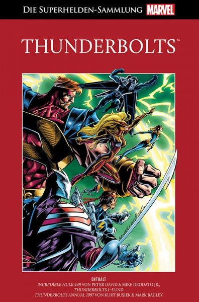 Die Marvel Superhelden Sammlung Band 82: Thunderbolts Cover