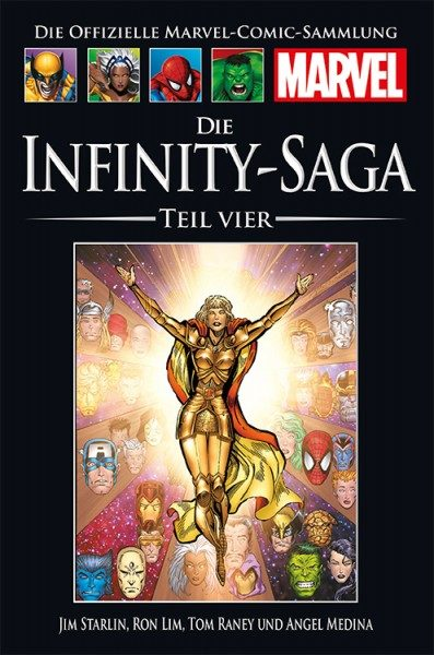 Hachette Marvel Collection 178 - Die Infinity-Saga, Teil IV Cover