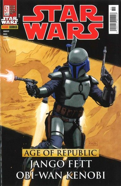 Star Wars 51 - Age of Republic - Jango Fett & Obi-Wan Kenobi - Kiosk Ausgabe Cover