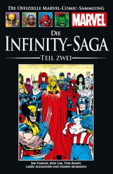 Hachette Marvel Collection 174 - Die Infinity-Saga 2, Teil II Cover