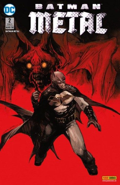 Batman Metal 2 Variant B