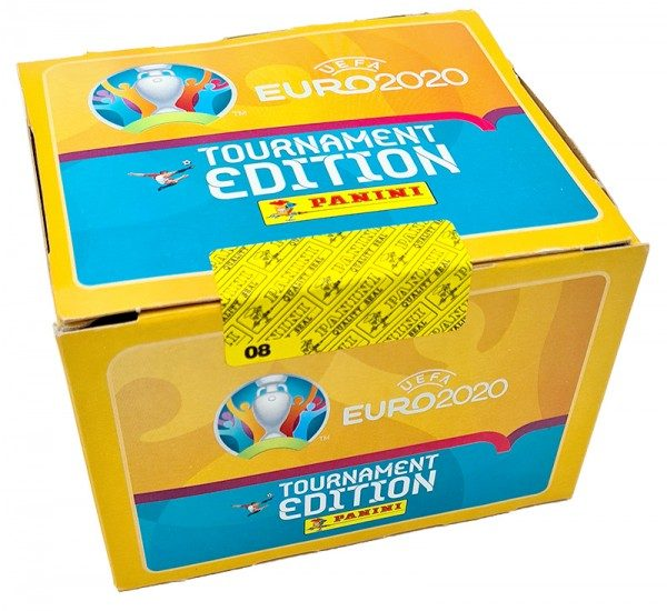UEFA EURO 2020™ Tournament Edition - Offizielle Stickerkollektion - Box (100 Tüten)