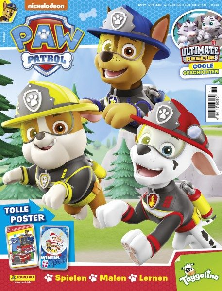 Paw Patrol Magazin 12/19 Cover
