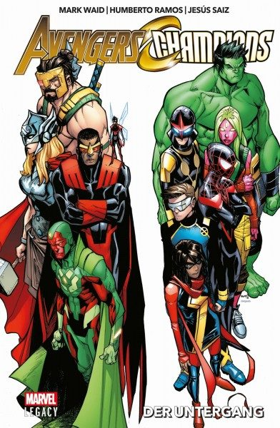 Marvel Legacy - Avengers/Champions - Der Untergang Cover