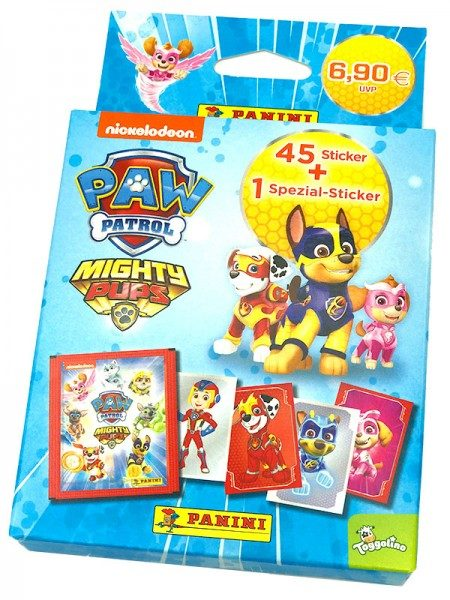 Paw Patrol: Mighty Pubs Sticker - ECO Blister mit 9 Tüten