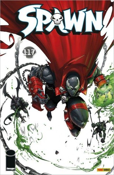 Spawn 117 Cover