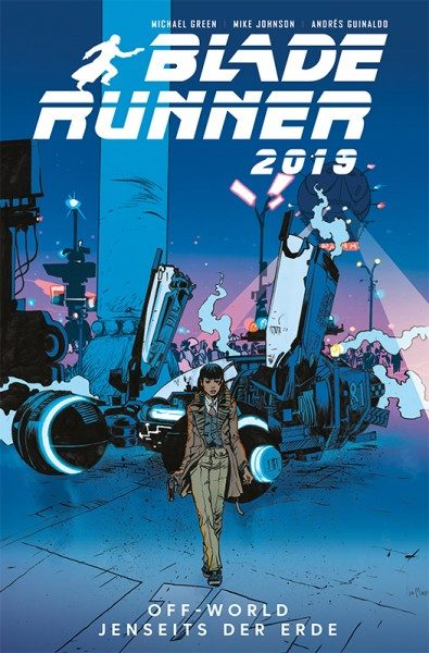 Blade Runner 2019 Band 2 Cover